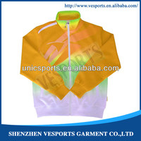 Custom team latest design your own 100% Polyester soccer tracksuit