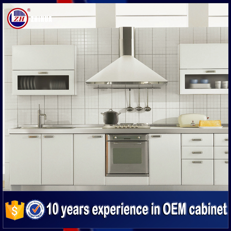 Wholesale Modern Pvc Board Kitchen Cabinet Design With