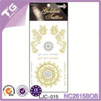 Gold Tatoos Sticker,Metallic Tattoo Ink Pen,Plate Making