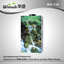 WO-Y28 solar back up system energy saving water heater