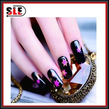 2015 new designs fashion nail art sticker nail arts design fake nails
