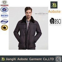 Russian Style Latest Black Winter Down Feather Jacket For Men 2015