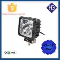 2015 Newest work light for trucks DC12V 24V led truck light 30W led work light