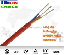 SIHF - Multi wire multi core halogen - free silicone cable