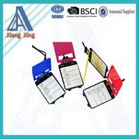 customized bulk plastic wholesale luggage tag