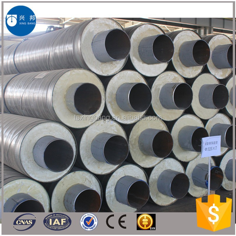 Chilled water insulated pipe with thermal resistant for Water pipe material