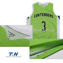 Basketball Tops with 2013 Sublimation Custom Prints