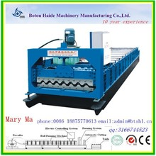 high quality metal sheet rolling corrugated roof and wall roof tile wall panel production line