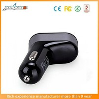 Super fast charger Black / white boots type car charger accessories with 5V/5. 1A electronic factory in China