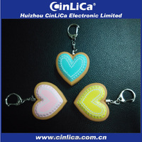 CJ015 heart shaped personal body guard alarm 120db