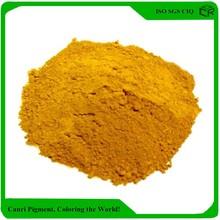 Inorganic pigment style stamping concrete yellow iron oxide concrete pigment