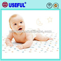 En coffret de coton polyester imperméable à l'eau tapis à langer jetables examen drap de lit