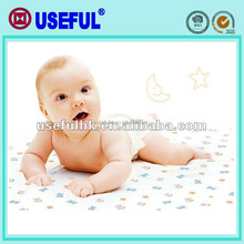 In box set cotton polyester Waterproof diaper changing mats Disposable Examination Bed Sheet
