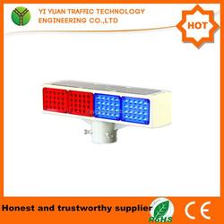 traffic safety beacon flare flashing led solar emergency vehicle warning lights