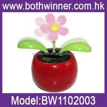 SQ184 swing solar apple flowers