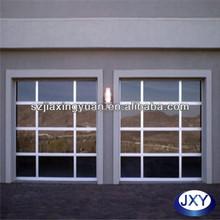 Anodized Aluminum Glaze Glass garage side door