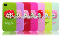 Strawberry girl Soft Silicone Back Phone Case Cover For Apple iPhone5 5G 5S