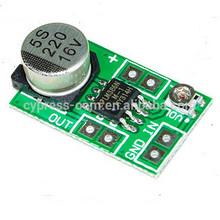 Mini placa de amplificador amplificador lm386/módulo de sonido/volumen ajustable y de baja potencia 5v~15v