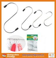 Stainless steel over the door hook metal s hooks for hanging
