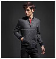 2015 Spring Autumn Man Casual Jacket baseball jaquetas de couro ,Man College Jacket Hommes coats 144004