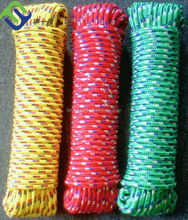 PP diamond braided rope/beautiful braided ropes for ship use