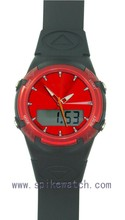 Popular in Sweden mixed colors fashion sports digital analog latest arrival watch woman