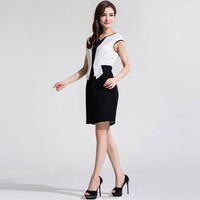 Latest woman girls pictures office dress for ladies