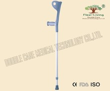 high quality of adjustable elbow crutches