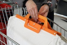 trend design portable insulated reusable shopping cart bag Hot sale Wholesale shopping bag