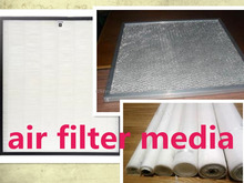 oil and water repellent air filter material pulse to clear the dust by PTFE membrane