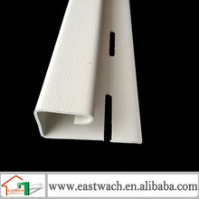 J channel strip for artificial plastic on gypsum or stone wall decoration