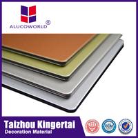 High quality panel sandwich aluminio precio wall cladding plastic wood composite sheet
