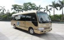 7m electric automatic transmission coaster bus for sale