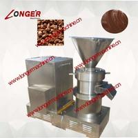 cacao bean grinding machine