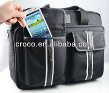 CROCO New product Nylon canvas messenger laptop bags, laptop shoulder bag