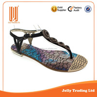 Beautiful hot sale fashion ladies shoes sandals flats