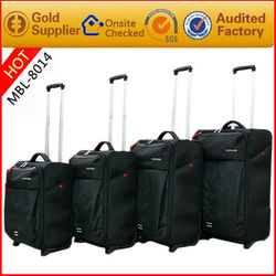 High quality travel trolley case sets 4 pieces