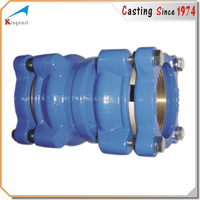 Custom mechanical joint and flange connection