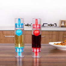 weshine high quality push type summer style cooking tools soy cruet