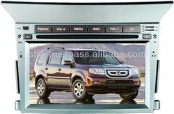 Car DVD for HONDA PILOT with GPS Navigation,Touch-Screen,Bluetooth,iphone menu,ipod,TV,AM/FM,Multi-languages,Digital TFT LCD