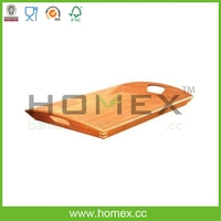 Kitchen Bamboo Food Tray/Square Utensil Caddy/Home Bed Table Serving Tray/Bamboo Kitchenware/Utensil Organizers/Homex