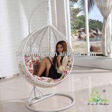 padded swing chair