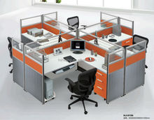 2014 Modern Design The Circle Style Office Cubicle