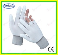 Nitrile/latex/pu coated glove Garden glove coated work gloves Eternity gray black etc.