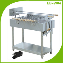 Rotary charcoal BBQ charbroiler Barbecue grill