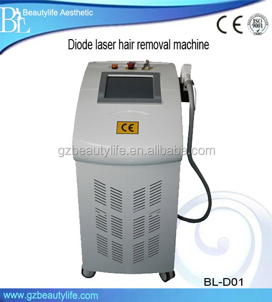 Fast Painfree 808nm Diode Laser Hair Removal Machine AC 220V/110V