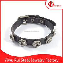 high quality 2015 customized adjustable leather bulk jewelry