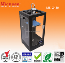 Michsan 3D printer MS-G480 with Build Size 200*200*480mm made in China