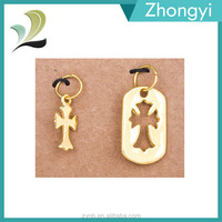 Fashion Jewelry Men Accessories Wholesale Cross Charms