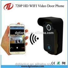 New design wireless wifi video door phone,wifi door bell camera